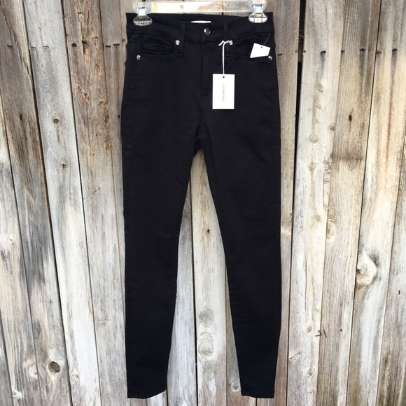 Good American Denim - NWT Good American Good Legs Skinny Jean Black 4